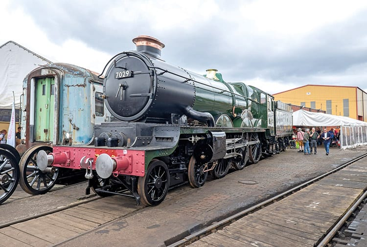 Complete Clun Castle debuts at Tyseley Open Weekend – The