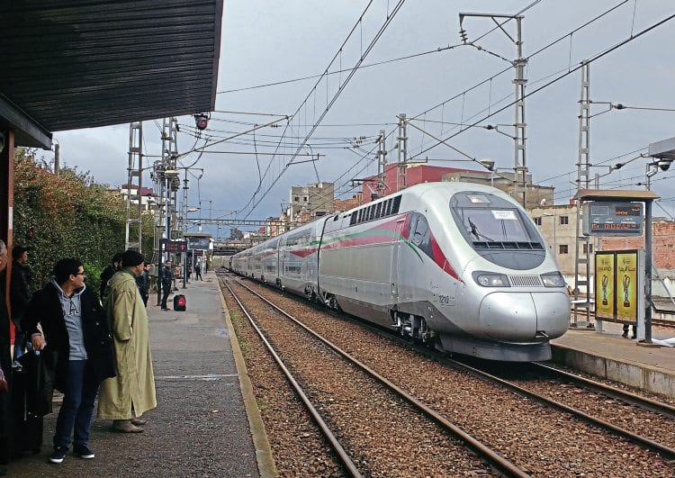 Image result for morocco high speed train
