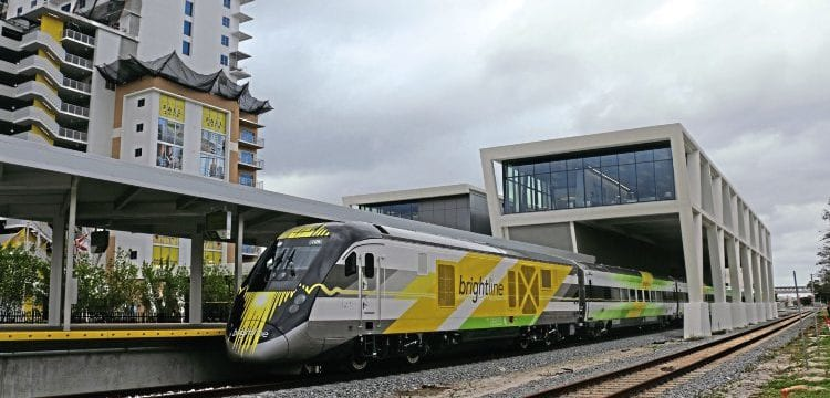 Florida's new private inter-city passenger service begins – The