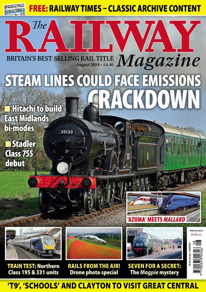 Railway Magazine cover