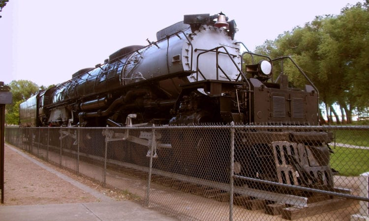 Union Pacific's Big Boy 4014 Steam Locomotive, in Cheyenne, Wyoming, USA