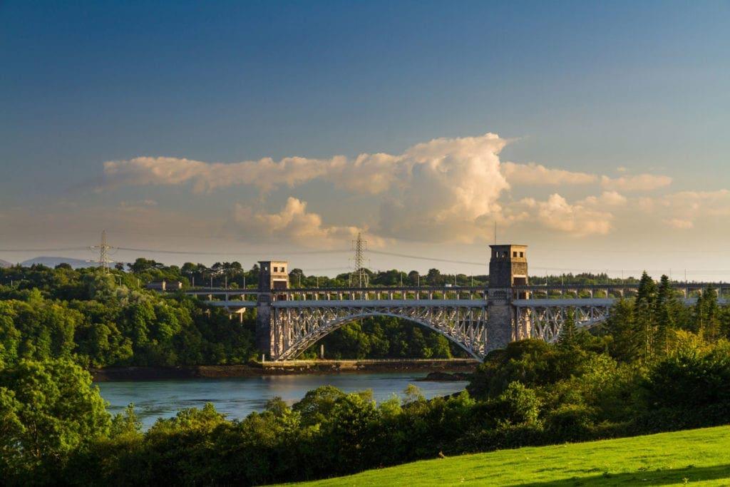 Britannia Bridge.