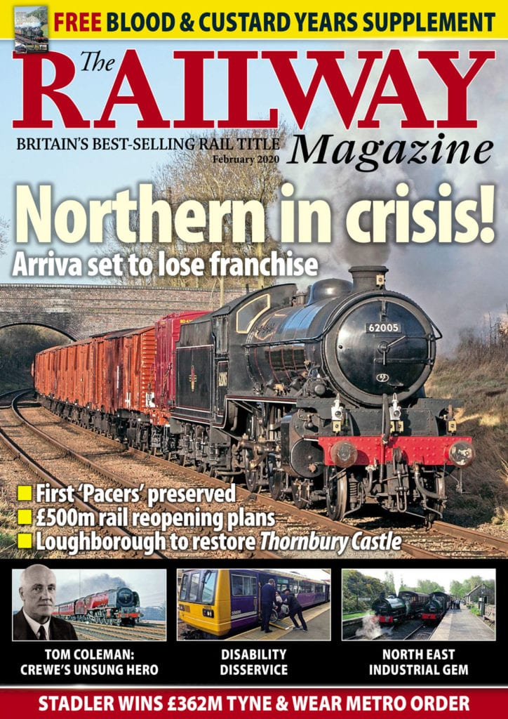 The Railway Magazine cover