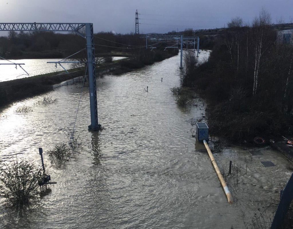 Storm Dennis: Rail passengers urged to check before travelling due to floods