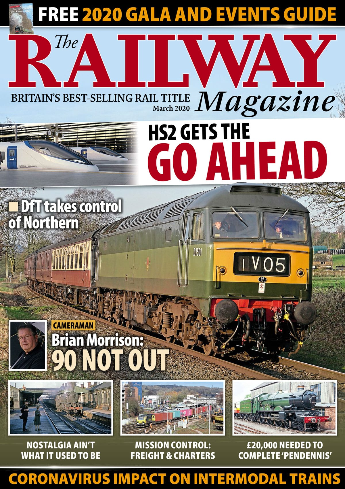The Railway Magazine March cover