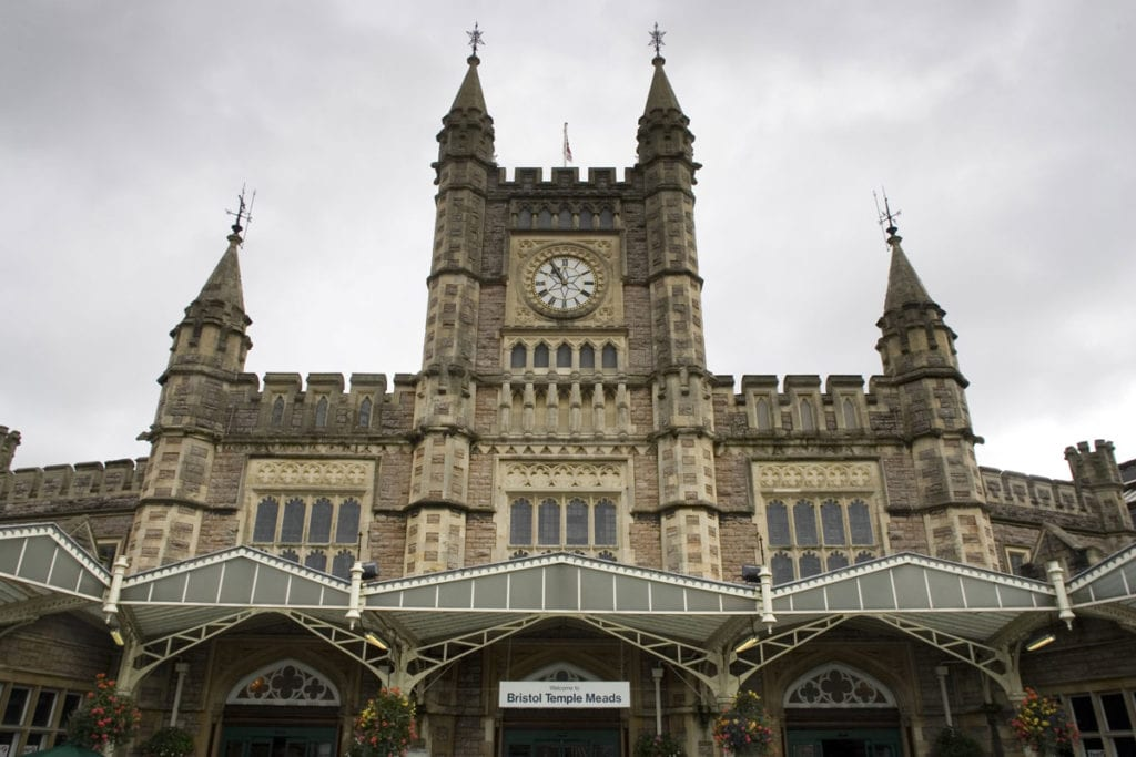 Public invited to send in Railway Rainbows to lift key workers at Bristol Temple Meads.
