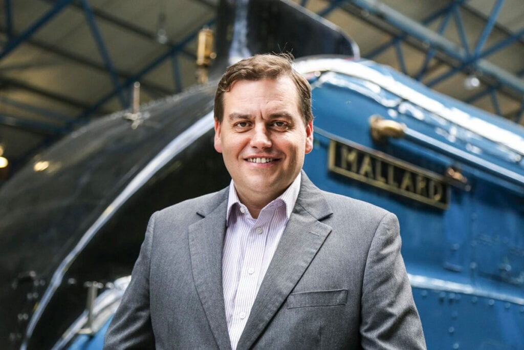Andrew McLean Head Curator at the National Railway Museum