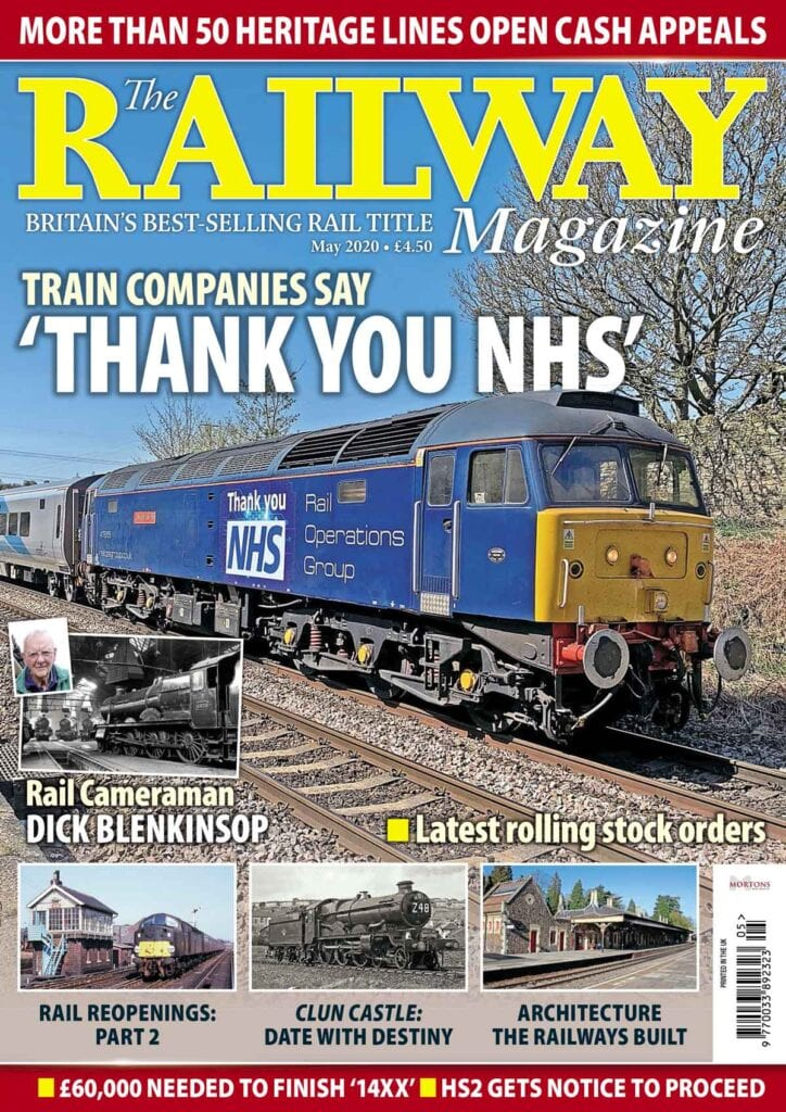 May issue of The Railway Magazine