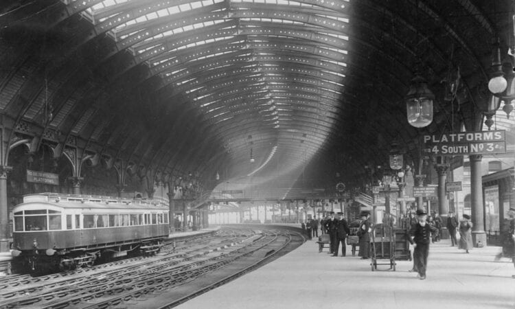 York railway station in 1903
