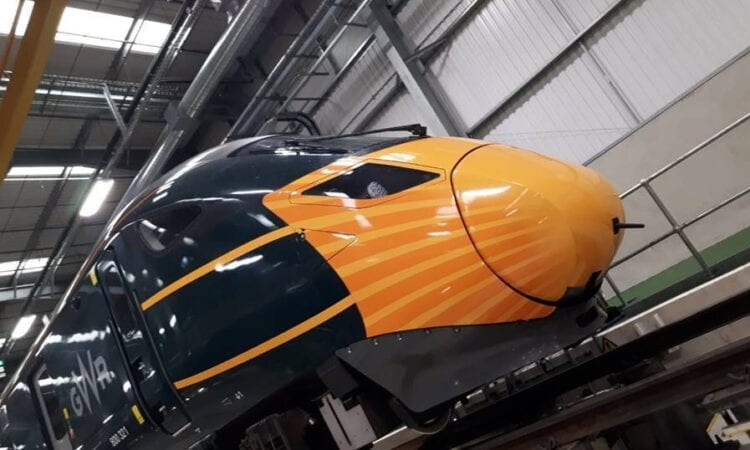 GWR 'masks' high-speed train