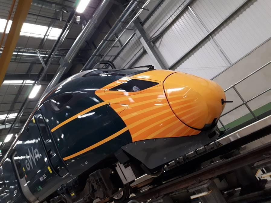 GWR 'masks' high-speed train