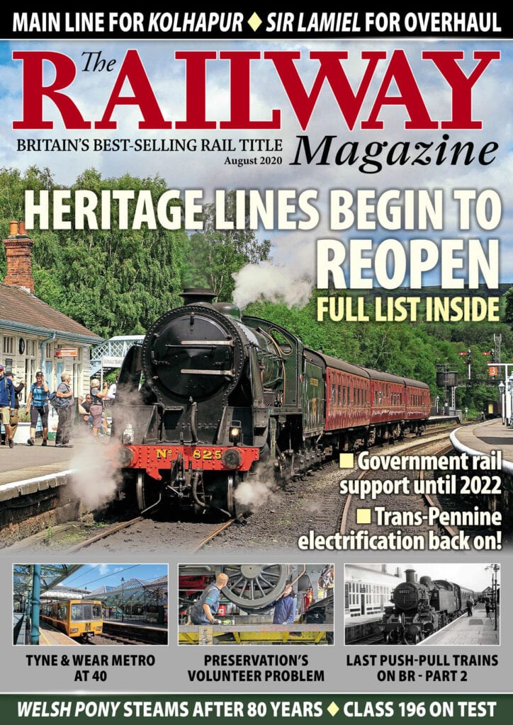 August edition of The Railway Magazine