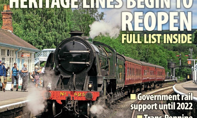The Railway Magazine cover