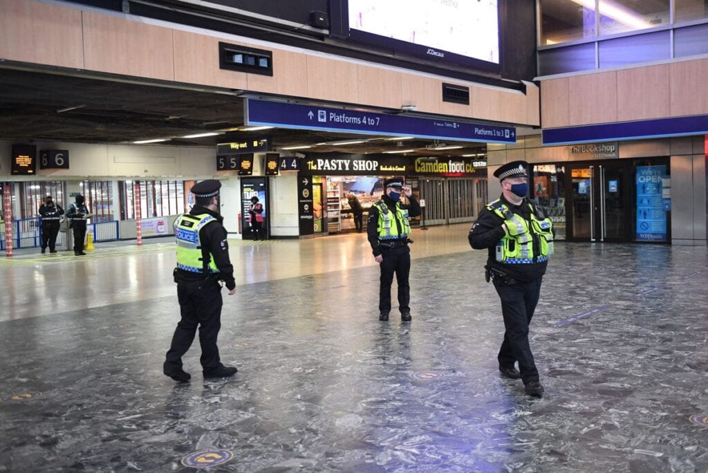Hancock brands those who packed trains out of London 'irresponsible'