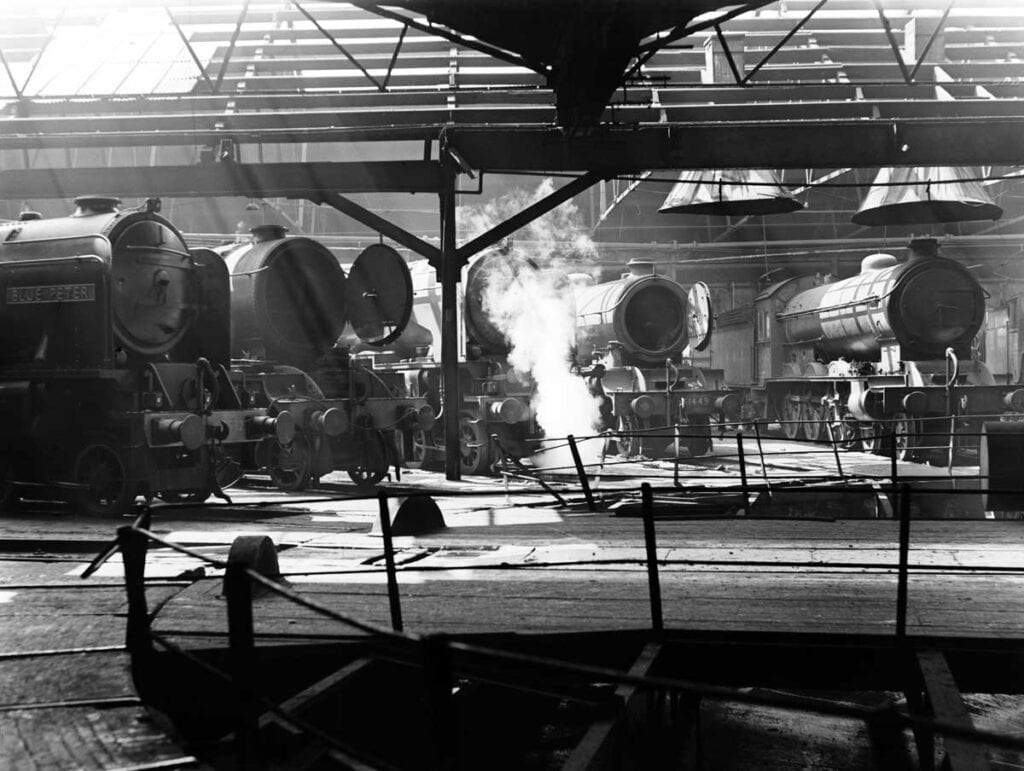 York Engine Shed in 1950